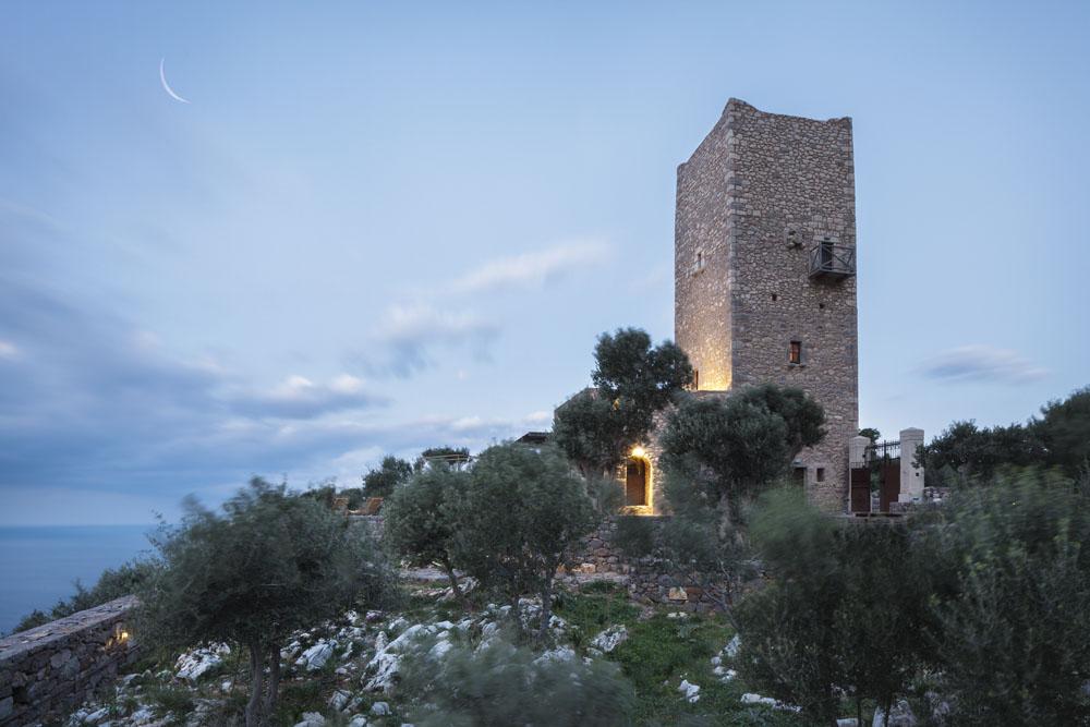 Tainaron Blue retreat in Mani, Greece